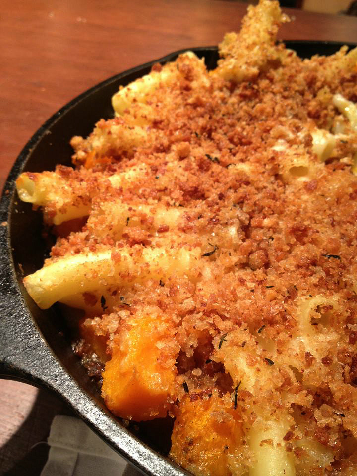 Butternut Squash Mac n Cheese